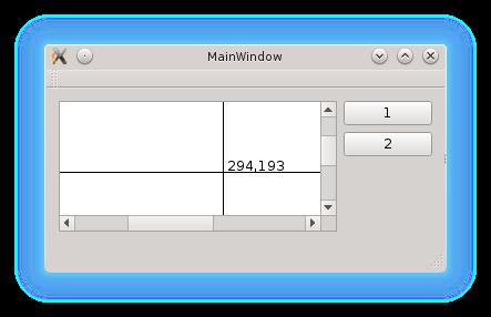 Dibujo en Qt  Parte II  Añadir un cursor crosshair | Boruro